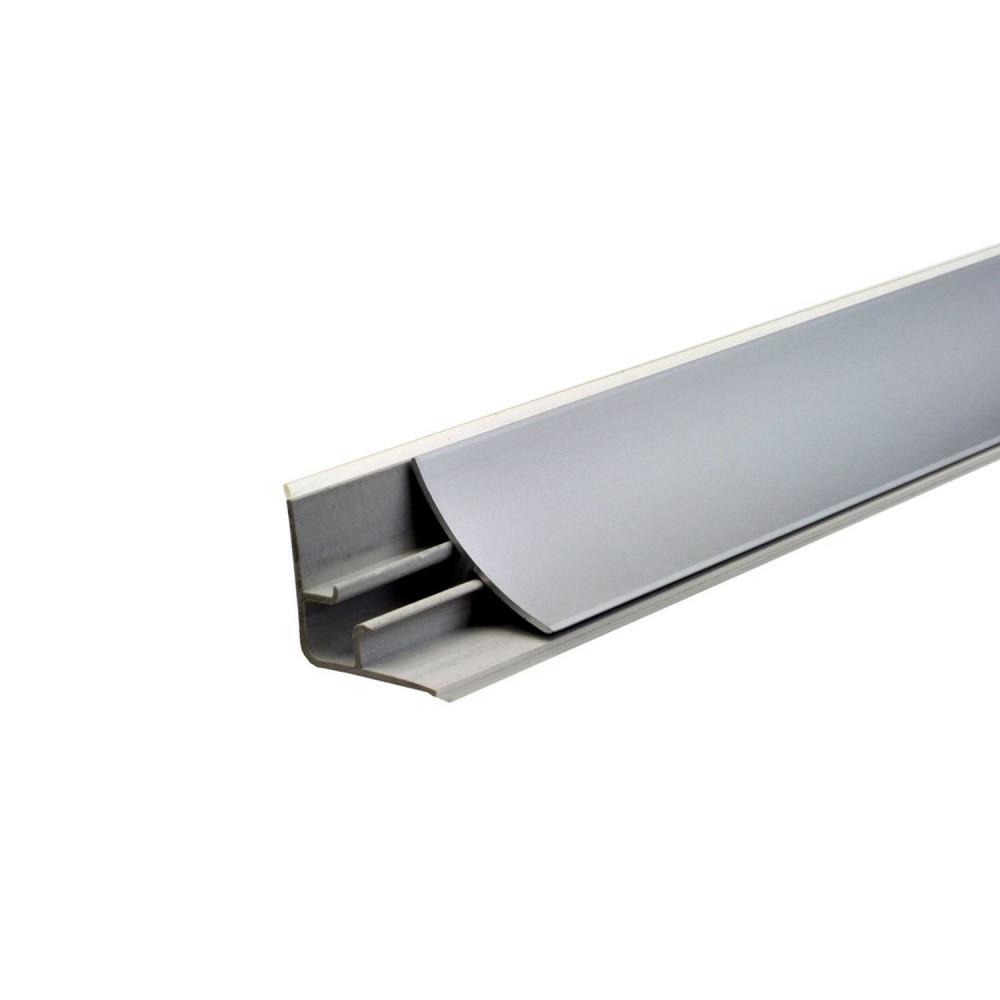 aluminiowa listwa przyblatowa - przekrój